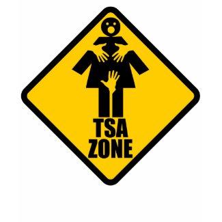 TSA Zone (5 colors) Ladies Fashion Twofer shirt