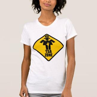 TSA Zone Caution Sign Design Shirt