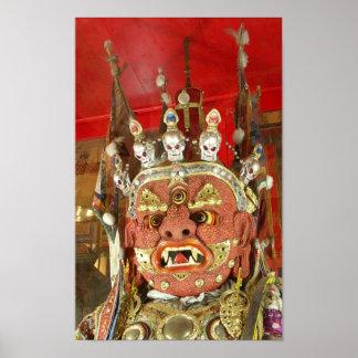 Tsam Mask Print
