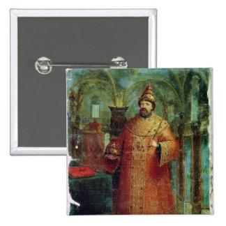 Tsar Ivan Alexeevich V Button