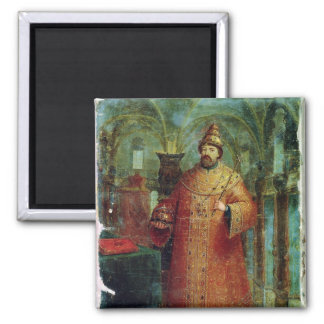 Tsar Ivan Alexeevich V Imán Cuadrado