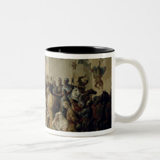 Tsar Ivan IV conquering Kazan in 1552, 1894 Two-Tone Coffee Mug