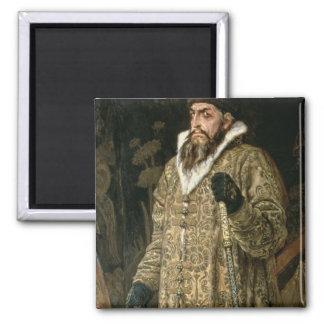 "Tsar Ivan IV Vasilyevich """" el 1897 terrible Imán Cuadrado"