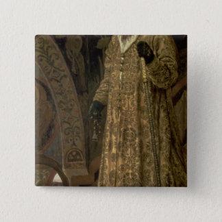 Tsar Ivan IV Vasilyevich 'the Terrible'  1897 Button