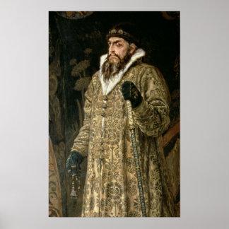 Tsar Ivan IV Vasilyevich 'the Terrible'  1897 Poster