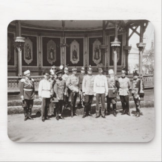 Tsar Nicholas II (1868-1918) standing in the garde Mouse Pad