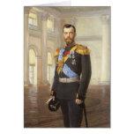 Tsar Nicholas II Card