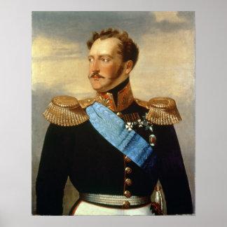 Tsar Nicolás I Póster