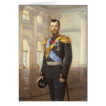 Tsar Nicolás II Felicitaciones
