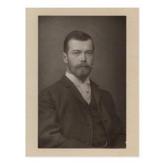 TSAR NICOLAS II Romanov of Russia #298 Postcard
