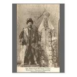 TSAR Nicolás II y TSARINA Romanov Rusia #110 Postal