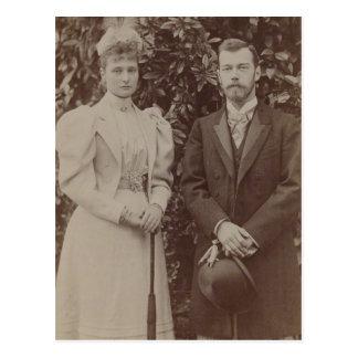 TSAR NICOLAS & TSARINA Romanov of Russia #295 Postcards