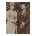TSAR NICOLÁS y TSARINA Romanov de Rusia #295 Tarjetas Postales