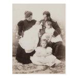 TSAR NICOLÁS y TSARINA Romanov Rusia #297 de la FA Tarjetas Postales