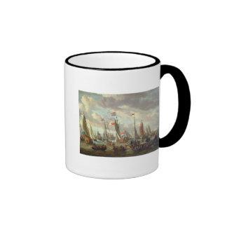 Tsar Peter I  visiting England in January 1698 Coffee Mug