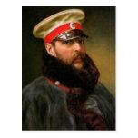 Tsar ruso Alejandro II Postal