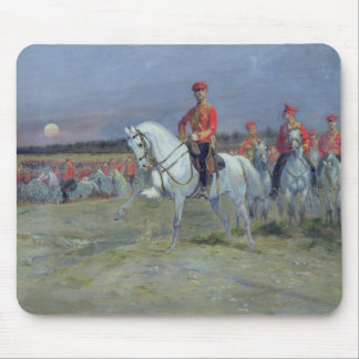 Tsarevich Nicolas  Reviewing the Troops, 1899 Mouse Pad