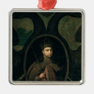 Tsarevna Sophia Alexeevna,  1680s Metal Ornament