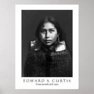 Tsawatenok girl, 1914 poster