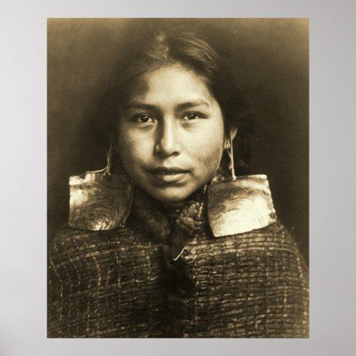 Tsawatenok Girl 1914 Poster