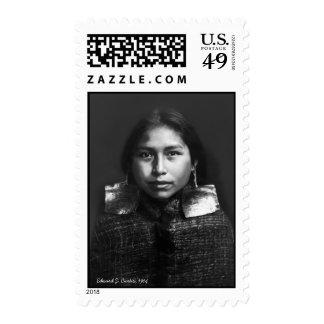 Tsawatenok Girl Stamps