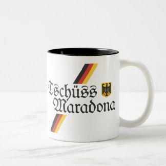 Tschuss Maradona Coffee Mug