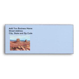 TseBiiNdzisgaii - Monument Valley Envelope