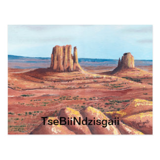 TseBiiNdzisgaii - Monument Valley Postcard