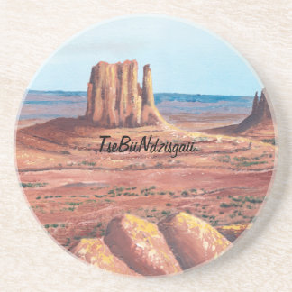 TseBiiNdzisgaii - Monument Valley Sandstone Coaster