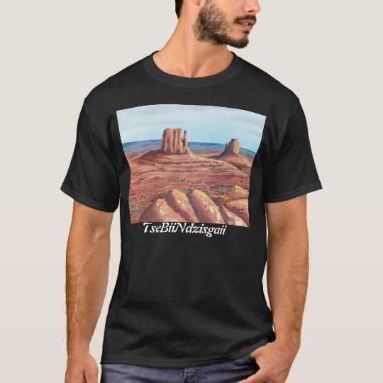 TseBiiNdzisgaii - Monument Valley T-Shirt