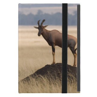 Tsessebe Antelope On Lookout For Predators iPad Mini Covers