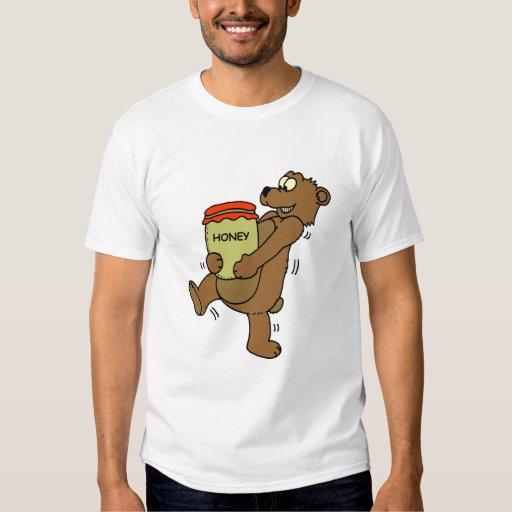 Tshirt Bear: Honey