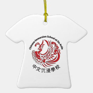 TShirt CIS Holiday Ornament Double sided