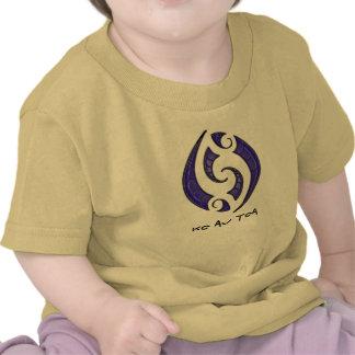 T'shirt del bebé de D'Toa Camiseta
