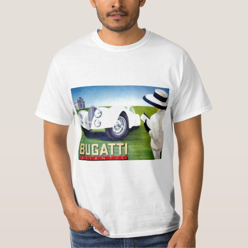 T'shirt del coche del vintage playera