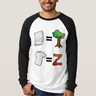 Tshirt equals Zazzle.