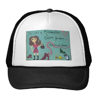 Tshirt for women who love shoes trucker hat