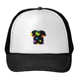 tshirt graphic- fractal circles trucker hat