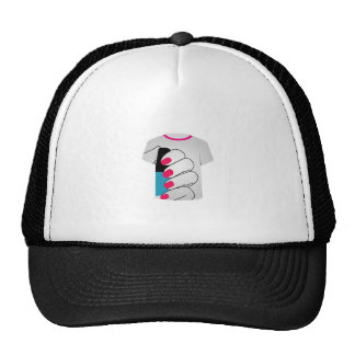 tshirt graphic- Painted nails Trucker Hat