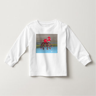tshirt long sleeve red spider