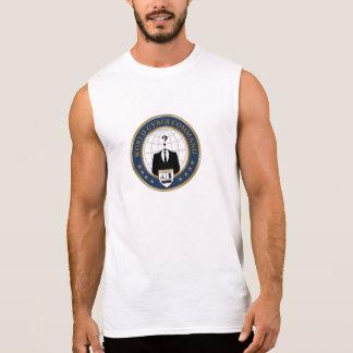 T'shirt Men World Cyber Command Sleeveless Tee
