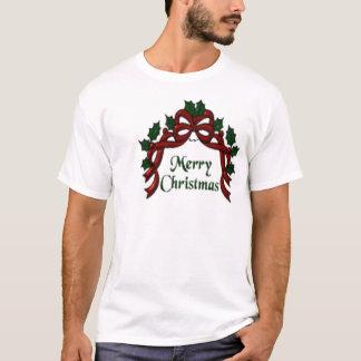 Tshirt - Merry Christmas Ribbon