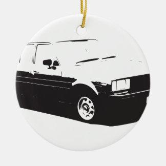 Tshirt Old Corolla-1983 Ceramic Ornament