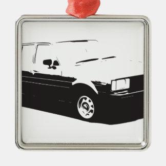 Tshirt Old Corolla-1983 Metal Ornament