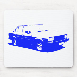 Tshirt Old Corolla blue-1983 Mouse Pad