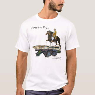 Tshirt, Peruvian Mountain Trail T-Shirt