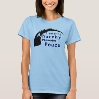TShirt Promoting Peace Anarchy