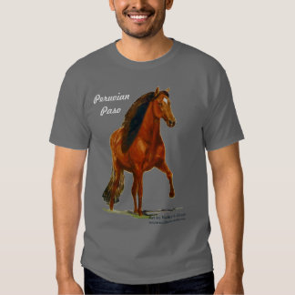 Tshirt, Red Peruvian Paso, Crazy Horse Lady T-shirt