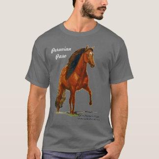 Tshirt, Red Peruvian Paso, Crazy Horse Lady T-Shirt