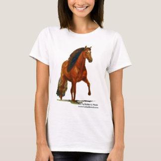 Tshirt, Red Peruvian Paso T-Shirt